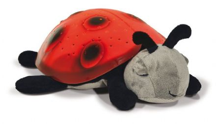 Cloud B Twilight Ladybug Nightlight - Red